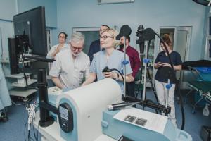 Endosonografia to nowoczesna metoda diagnostyczna, ale lepiej nie ćwiczyćjej na pacjencie