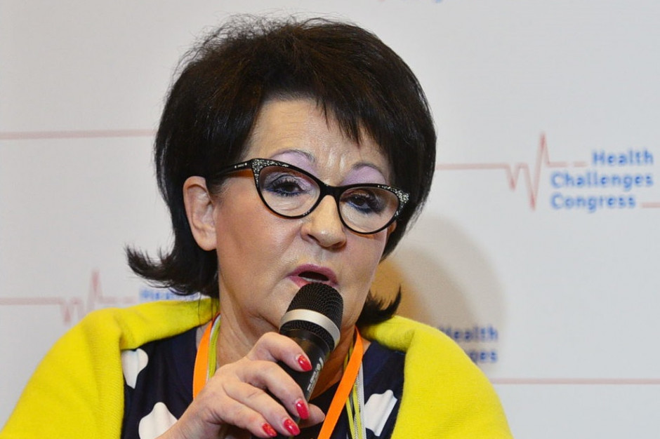 Dr Grażyna Cholewińska: warto zaufać specjalistom leczącym zakażonych wirusem HIV