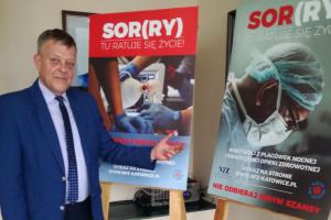 """Łódzkie: w szpitalach zawisną plakaty """"SOR(RY) - tu się ratuje życie"""""""