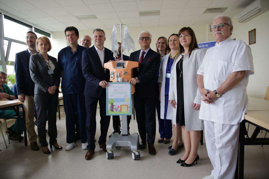 Nerkoserce dla szpitala dziecięcego w Prokocimiu dzięki akcji charytatywnej