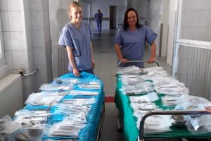 Zielona Góra: szpital otrzymał od darczyńcy narzędzia chirurgiczne dla bloku operacyjnego