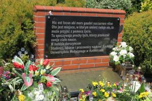 Katowice: to będzie 16. pochówek darczyńców, którzy przekazali swoje ciała na potrzeby nauki