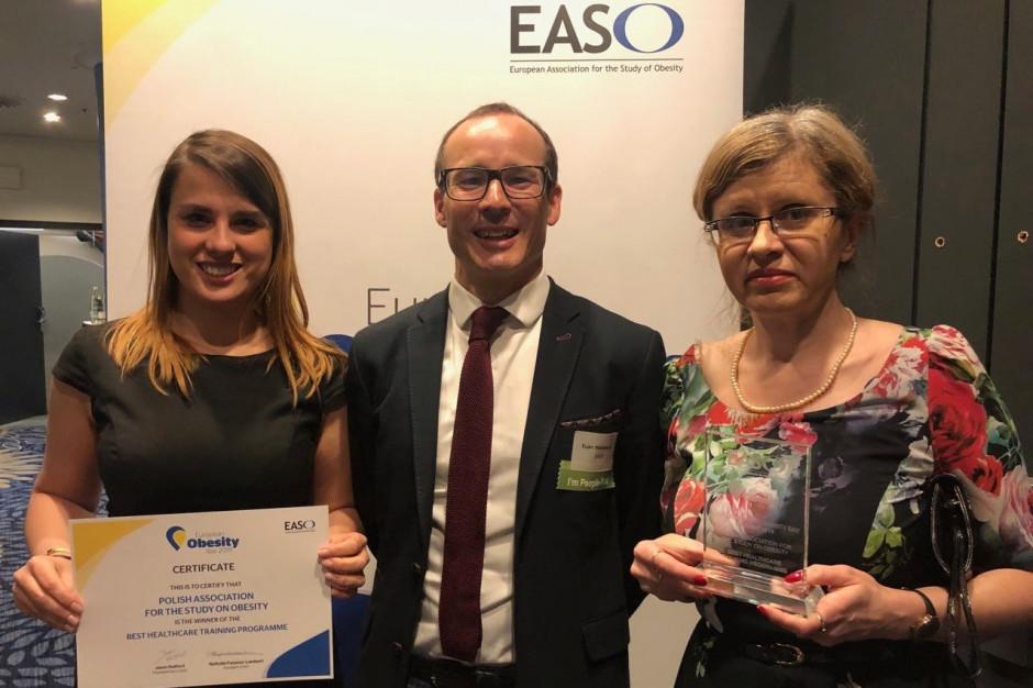 Europejska nagroda dla programu certyfikacji lekarzy i akredytacji ośrodków leczących chorych na otyłość