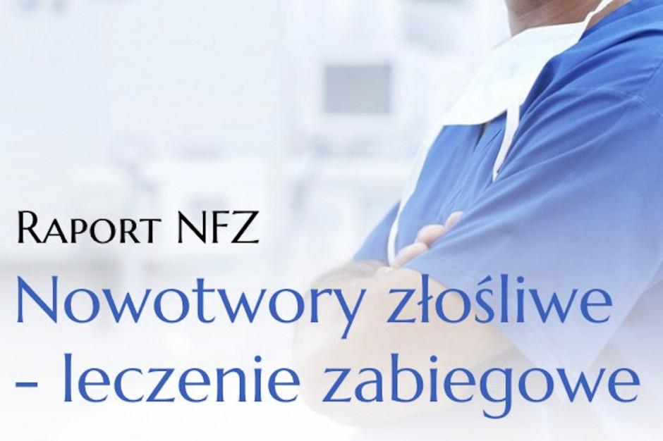 NFZ publikuje raport o leczeniu zabiegowym nowotworów w Polsce. Znajdź swój ośrodek