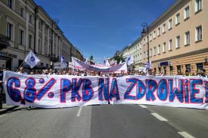 W Warszawie ruszyła manifestacja lekarzy