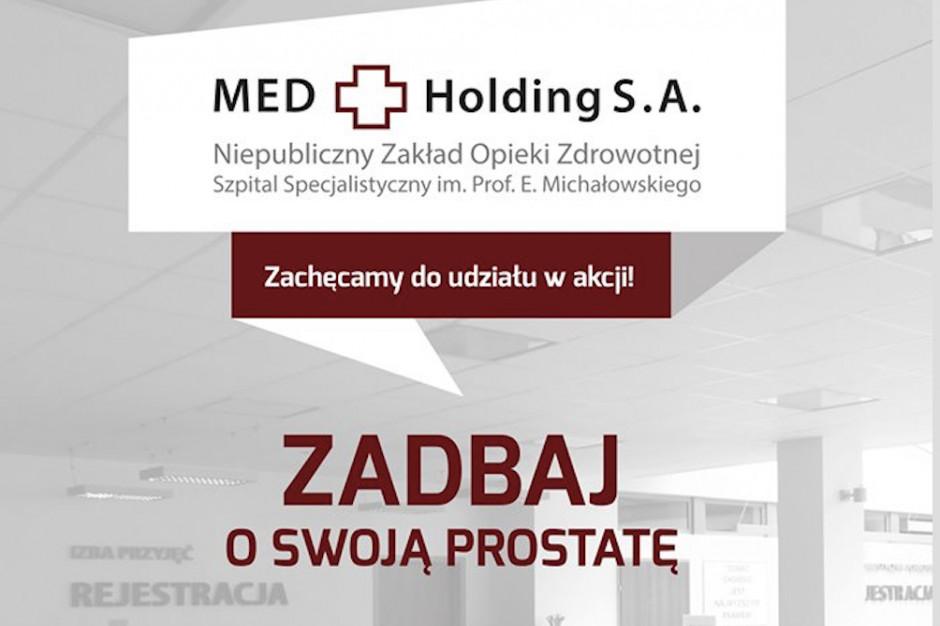 Katowice: akcja bezpłatnych badań urologicznych dla mężczyzn