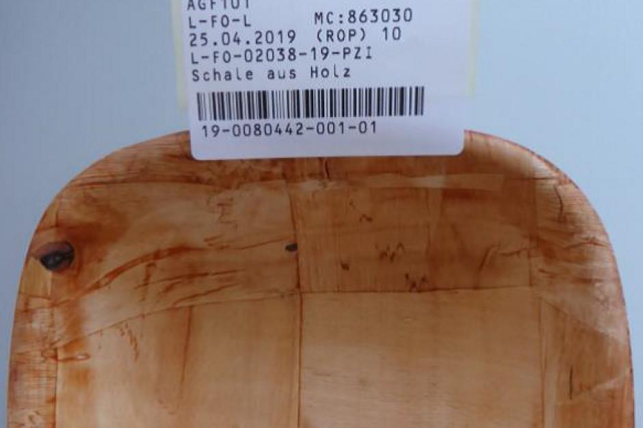 """GIS: wycofanie produktu """"Miseczka drewniana"""" ze sklepów"""