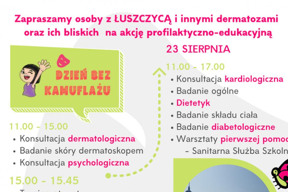 """Warszawa: akcja """"Dzień bez kamuflażu"""" służy budowaniu świadomości nt. łuszczycy"""