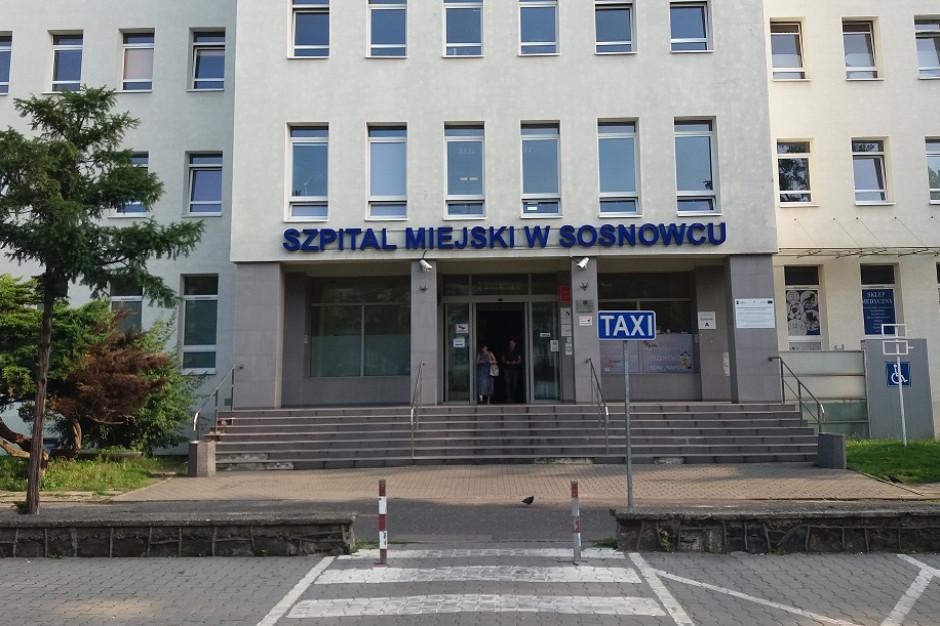 Sosnowiec: zarządca zamknął szpitalny parking, zabrał też kostkę brukową