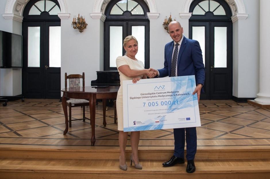 Katowice: GCM otrzymało ministerialne wsparcie w wysokości 7 mln zł na zakup tomografu