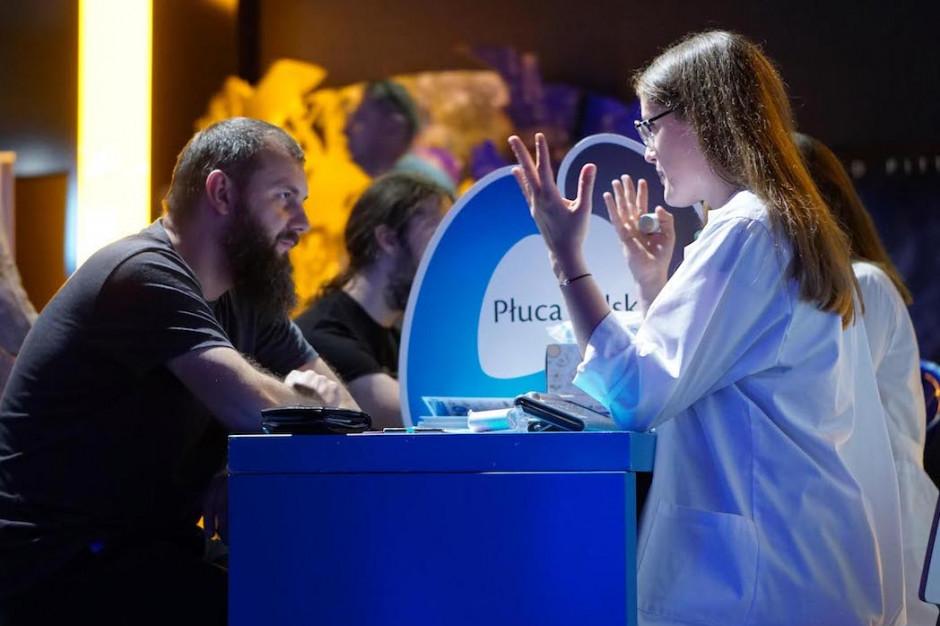 Kampania edukacyjna: zrób badanie spirometryczne w kinie