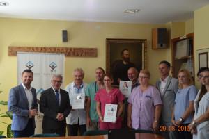 Sucha Beskidzka: szpital z diamentowym certyfikatem za leczenie udarów