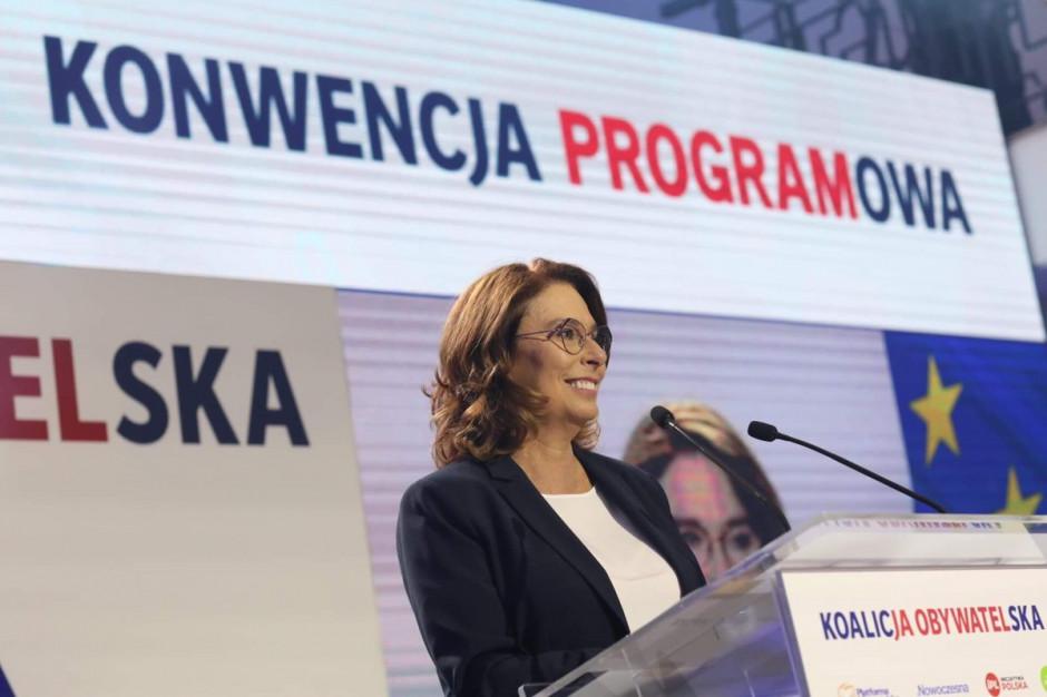 Kidawa-Błońska: marzenia o służbie zdrowia XXI w. zmieniły się w plan
