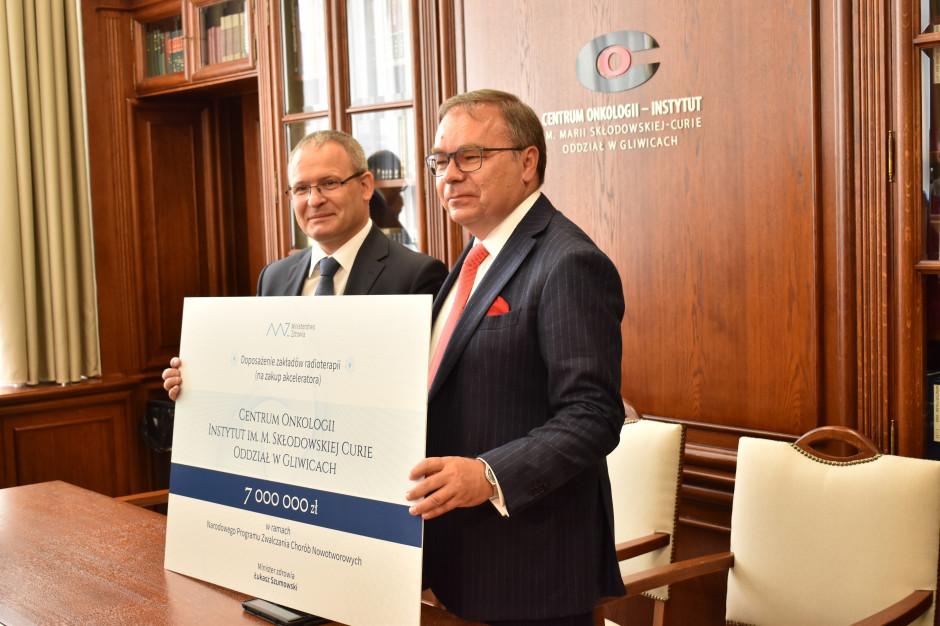 Gliwice: 7 mln zł na zakup akceleratora liniowego dla COI