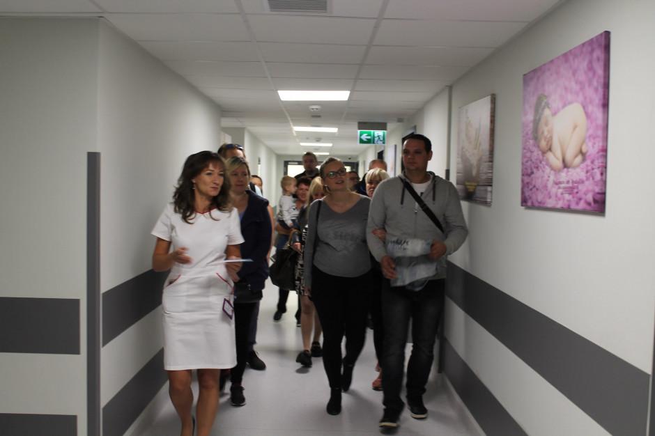 Katowice: najnowszą porodówkę w regionie odwiedziły tłumy przyszłych rodziców