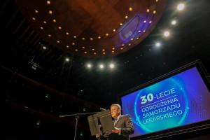 Katowice: ponad 1000 lekarzy i lekarzy dentystów świętowało 30-lecie Odrodzenia Samorządu Lekarskiego