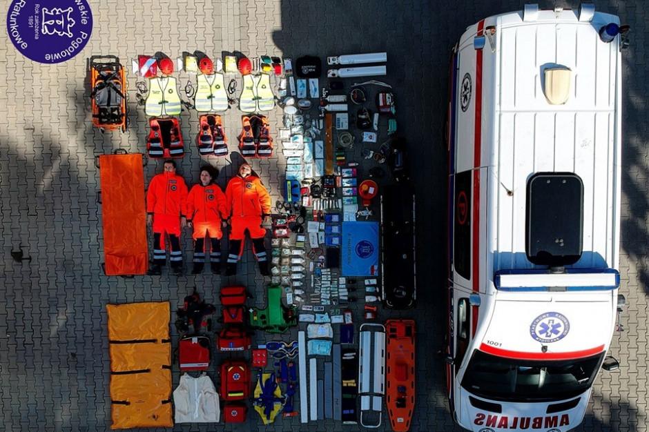 Krakowskie Pogotowie Ratunkowe przyłączyło się do akcji #tetrischallenge