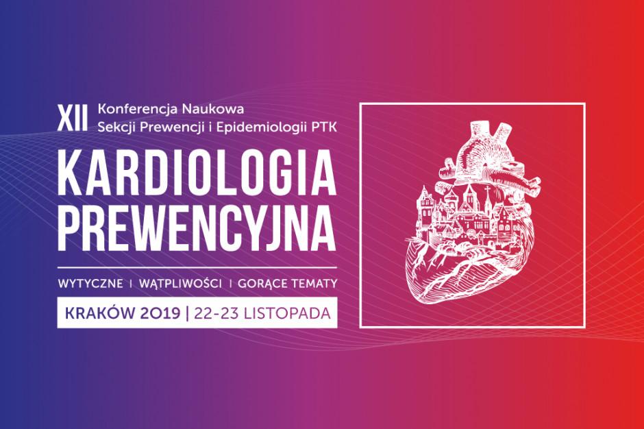 """Konferencja """"Kardiologia Prewencyjna 2019 - wytyczne, wątpliwości, gorące tematy"""""""