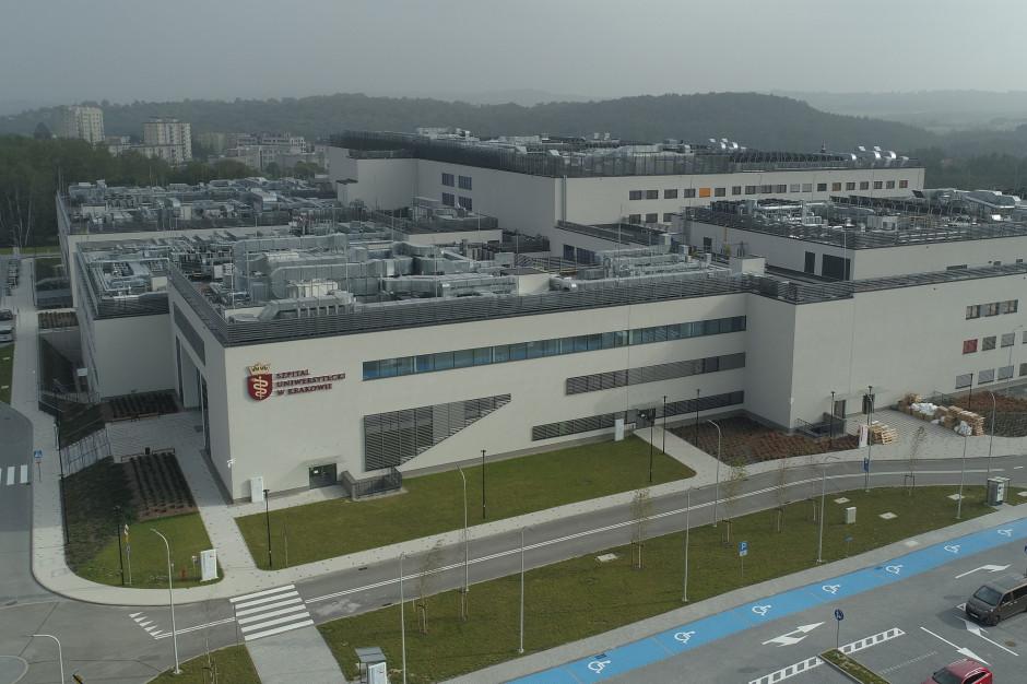 Szpital Uniwersytecki w Krakowie dalej się przeprowadza