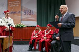 Nestor polskiej pediatrii uhonorowany Medalem im. dr. Tytusa Chałubińskiego