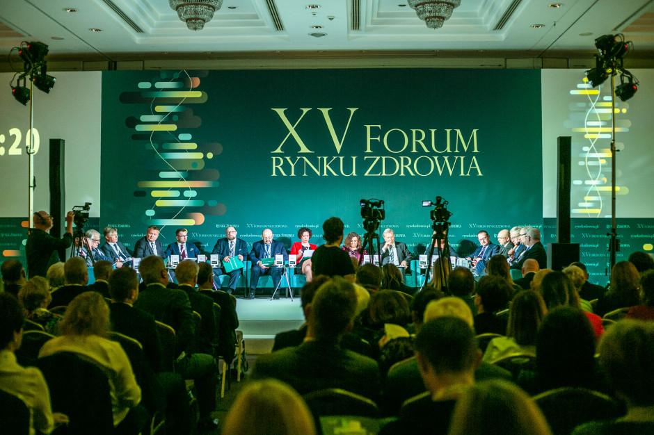 XV Forum Rynku Zdrowia: w tym kierunku trzeba zmieniać ochronę zdrowia