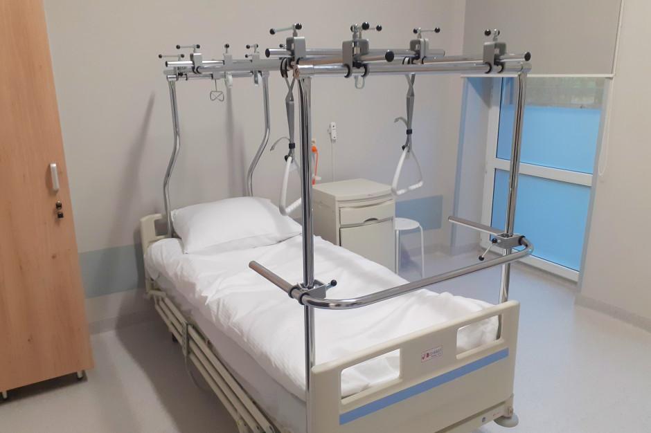 Czeladź: oddział urazowo-ortopedyczny już po remoncie za niemal milion złotych