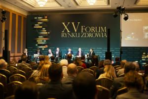 """XV Forum Rynku Zdrowia: sesja """"Projektowanie, budowa i modernizacja obiektów ochrony zdrowia"""""""