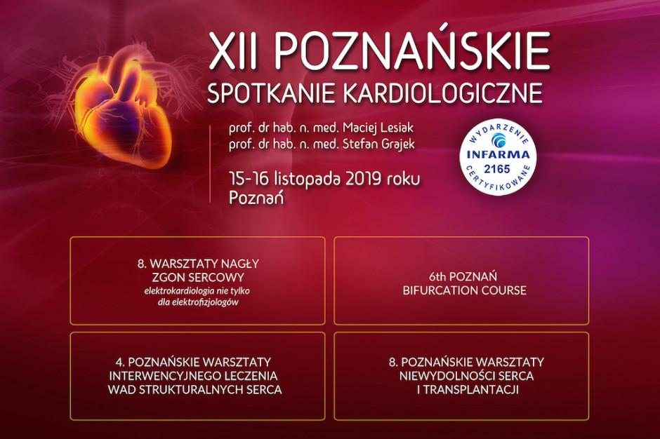 XII Poznańskie Spotkanie Kardiologiczne