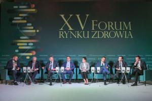 """XV Forum Rynku Zdrowia: sesja """"e-zdrowie w Polsce"""""""