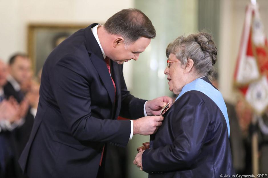 Warszawa: kardiolog, prof. Grażyna Świątecka została odznaczona Orderem Orła Białego