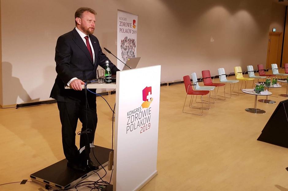 Szumowski: dobro pacjenta i płacenie za efekt leczenia to cele zmian w ochronie zdrowia