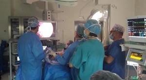Kielce: lekarze z Rosji szkolą się w ŚCO w zakresie ginekologicznych zabiegów laparoskopowych