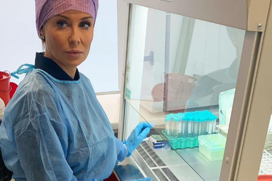 Małgorzata Rozenek-Majdan nagrywa dokument o in vitro