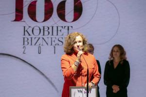 """Anna Rulkiewicz została laureatką rankingu """"100 Kobiet Biznesu"""""""