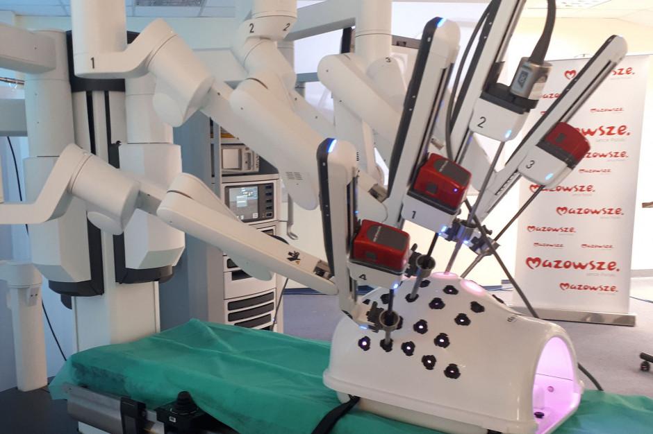 Siedlce: pierwsza w szpitalu operacja prostatektomii z użyciem robota