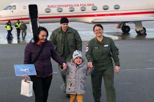 MON: 6-letni Filip wrócił do Polski po operacji w Bostonie