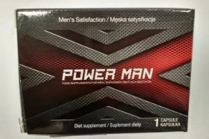 GIS ostrzega przed użyciem suplementu diety ''POWER MAN''