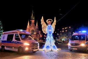 Kraków: w sylwestrową noc pogotowie czeka ponad 300 wezwań