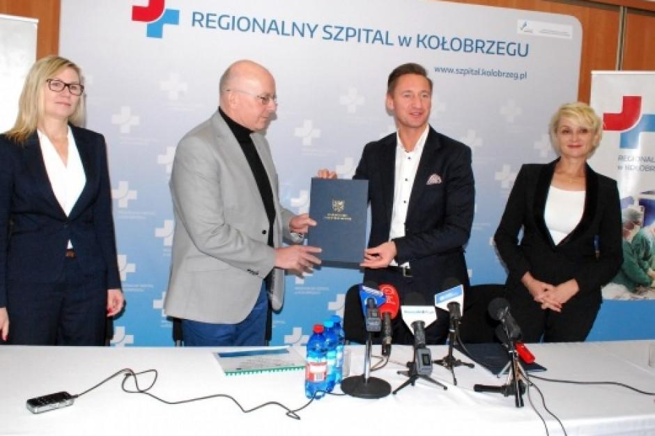 Kołobrzeg: szpital otrzyma kilka milionów złotych więcej na przebudowę