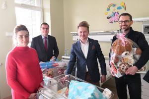 Sosnowiec: liczba urodzeń na miejskiej porodówce przekroczyła tysiąc