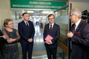 WUM: otwarcie Kliniki Onkologii i Centrum Transplantologii
