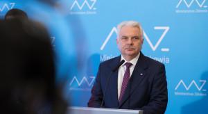 Wiceminister zdrowia: niepokoi coraz większa liczba osób umierających z powodu koronawirusa