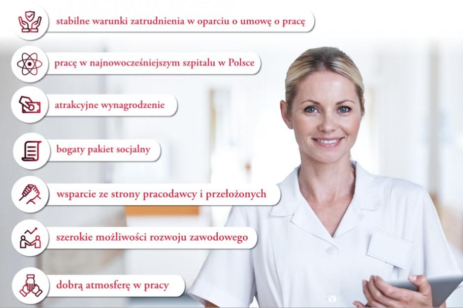 Kraków: szpital szuka pielęgniarek ogłaszając się na 150 plakatach, w tym na billboardach