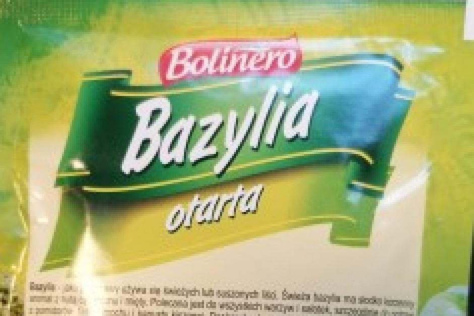 GIS wycofał niektóre partie suszonej bazylii, powodem wykrycie salmonelli