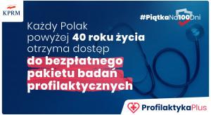 MZ: wprowadzamy Program Profilaktyka 40 Plus, obejmie 11 mln Polaków
