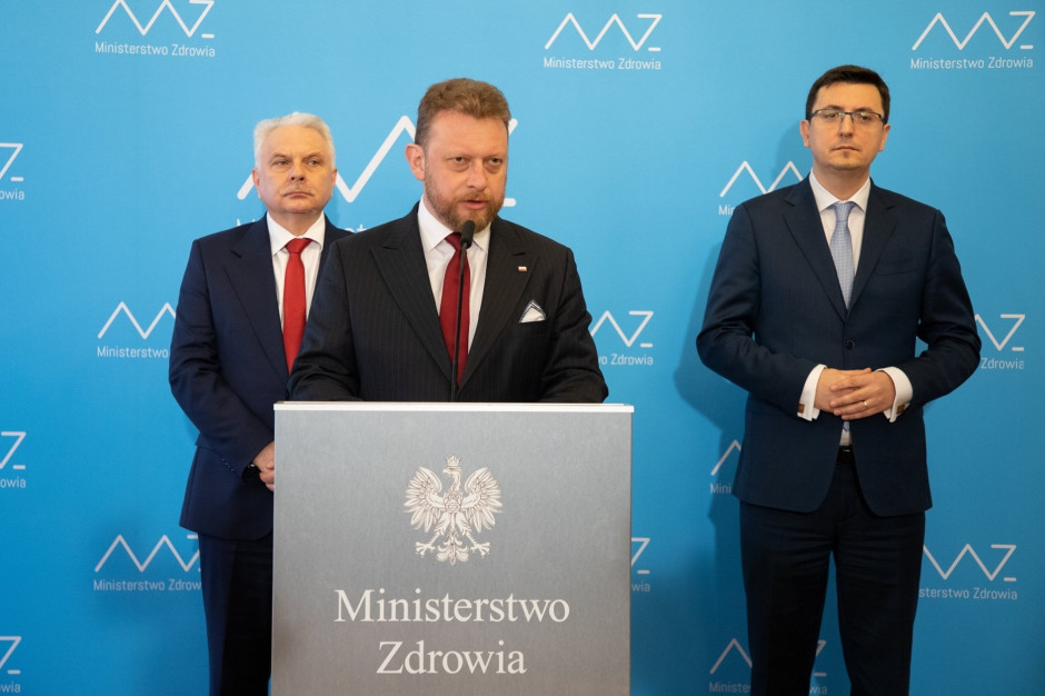 Minister Szumowski po wykryciu koronawirusa u ministra Wosia: ja nie miałem z nim kontaktu