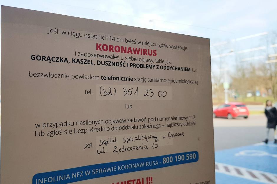 Wrocław: 50 osób spośród personelu centrum chorób płuc na kwarantannie