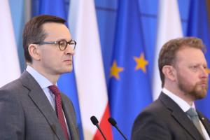 Morawiecki: ministrowi Szumowskiemu należy się największy order, jaki mogę sobie wyobrazić