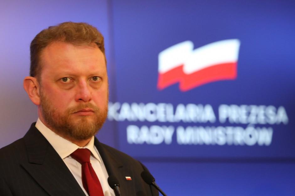 Były minister zdrowia Łukasz Szumowski w szpitalu z objawami koronawirusa