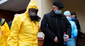 Katowice: koronawirus w szpitalu, 17 osób na kwarantannie
